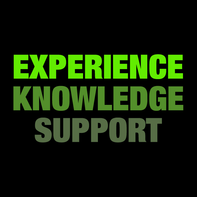 design experience, knowledge and support